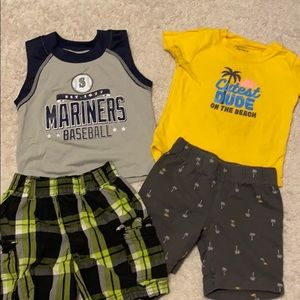 Boys' summer clothing Lot